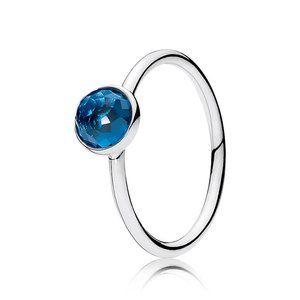 🍓Pandora December Droplet Birthstone Ring
